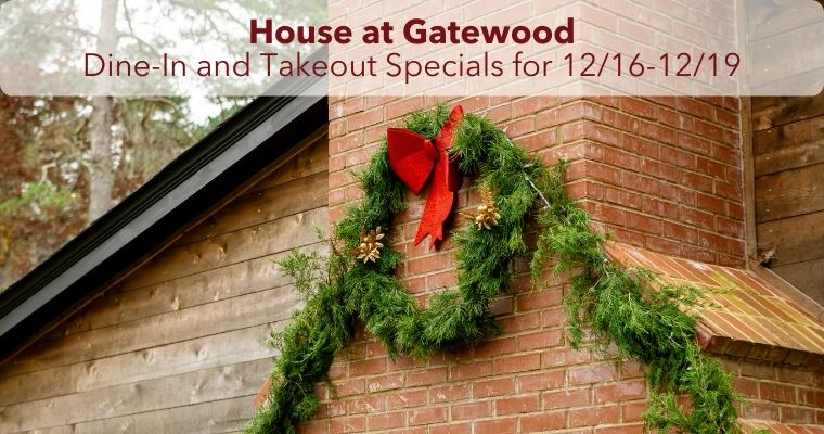 H@G Specials for Wednesday 12/2 - Saturday 12/5